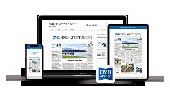 Teil des Angebots: das ePaper als 1:1-Ausgabe der OVB Heimatzeitung