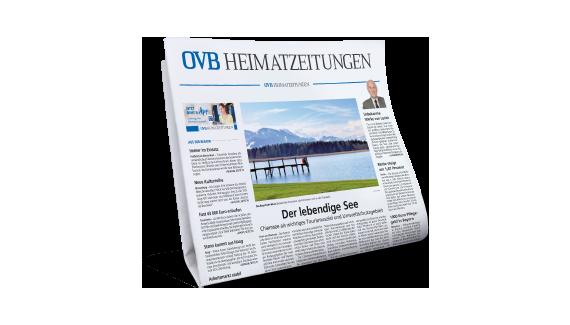 Enthalten in im Angebot: eine Lokalausgabe der OVB Heimatzeitungen