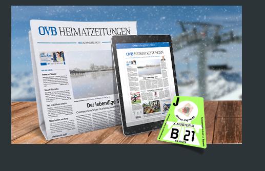 Im Vignetten-Abo Print mit dabei: gedruckte sowie digitale Heimatzeitung